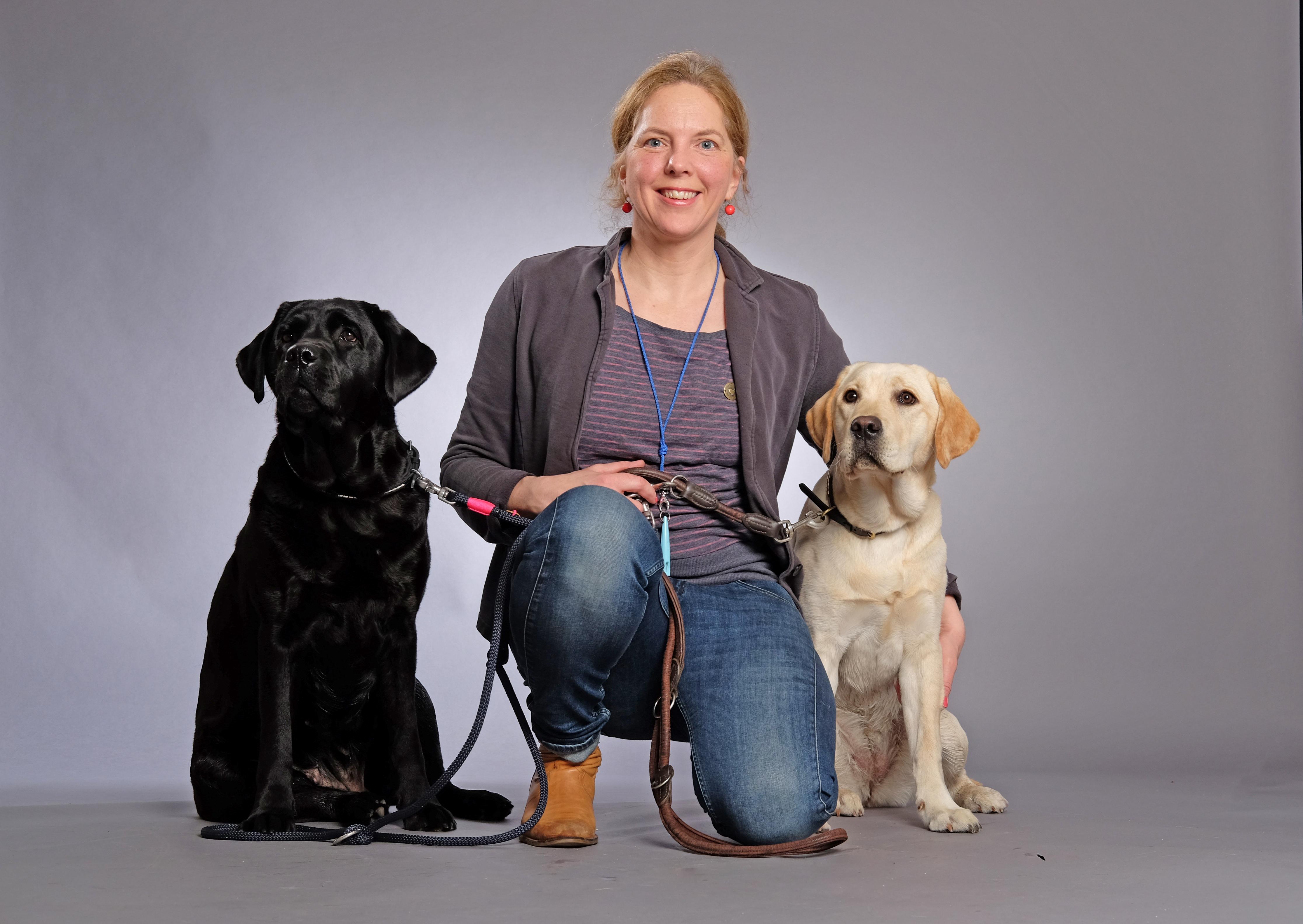 Portraitserieleser; Christina Koehler, Lehrerin und Hundezuechterin;